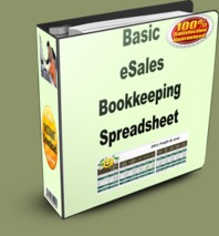 Basic eSales Bookkeeping Spreadsheet