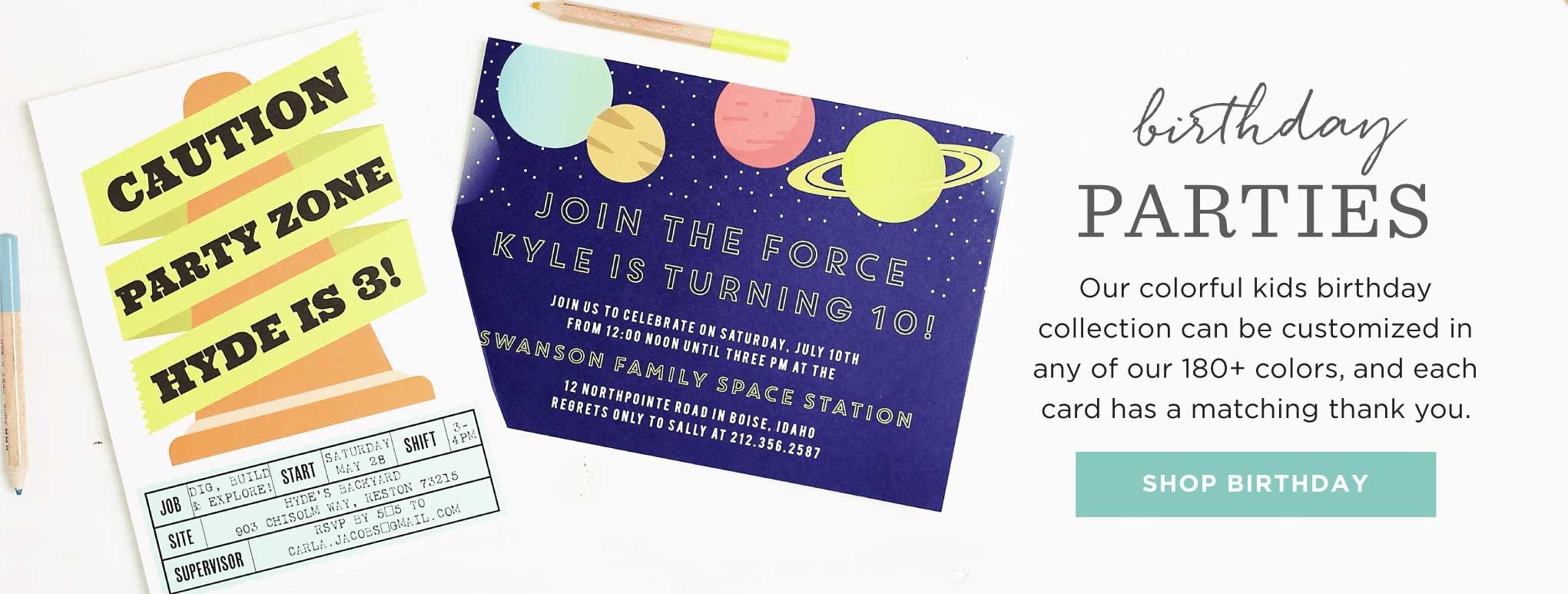 party invitations 15 off super cute
