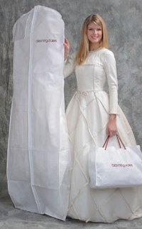Basic Ltd | Breathable Bridal dress garment bags, Printed ...