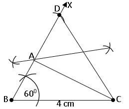TS IX Maths Geometrical Constructions 9