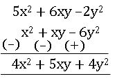 TS VIII maths Algebraic Expressions 2