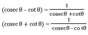 TS inter trigonometric identities 2