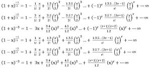 TS inter 2A binomial theorem for rational index3