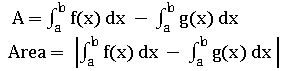TS inter definite integration area of curves8