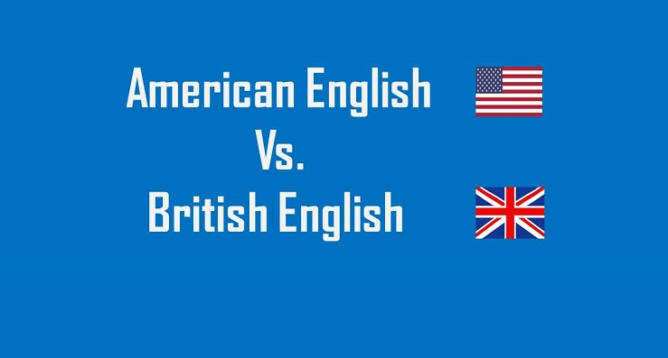 American English and British English