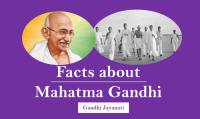 Important GK facts about Mahatma Gandhi & Gandhi Jayanti on 2 October