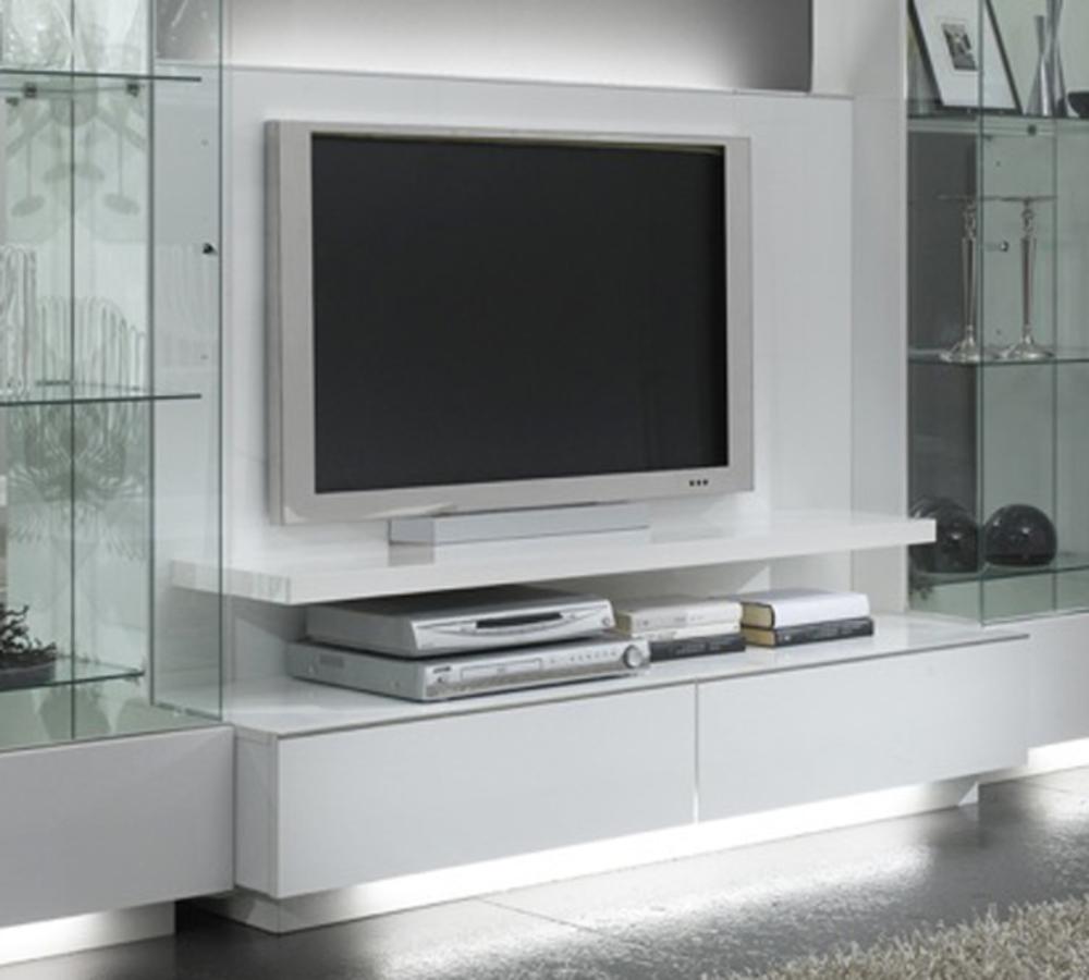Meuble Blanc Laqu Ikea Gallery Of Meuble Tv Noir Et Blanc Laque  # Vegas Meuble Tv