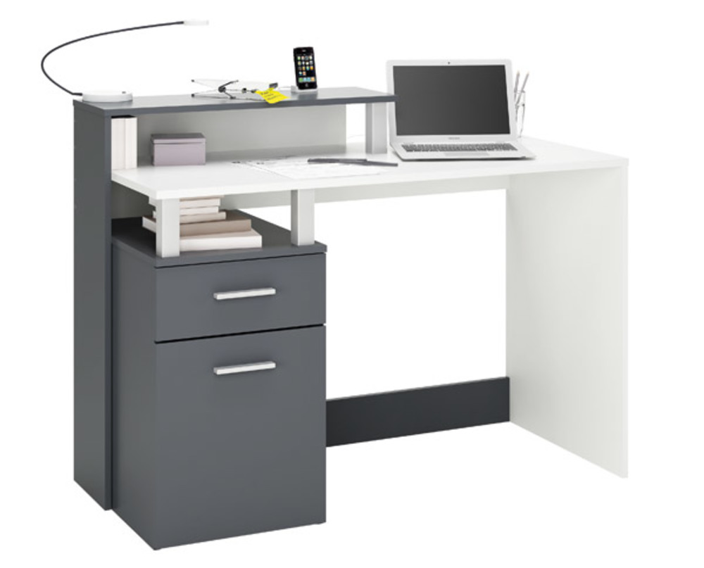 bureau multimedia 1 porte 1 tiroir oracle