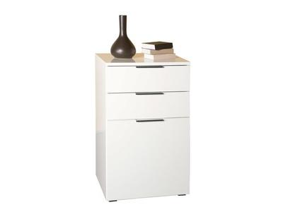 meuble de rangement 1 porte et 2 tiroirs bolero