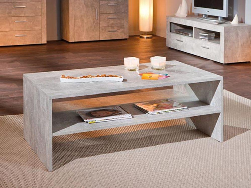 table basse beton