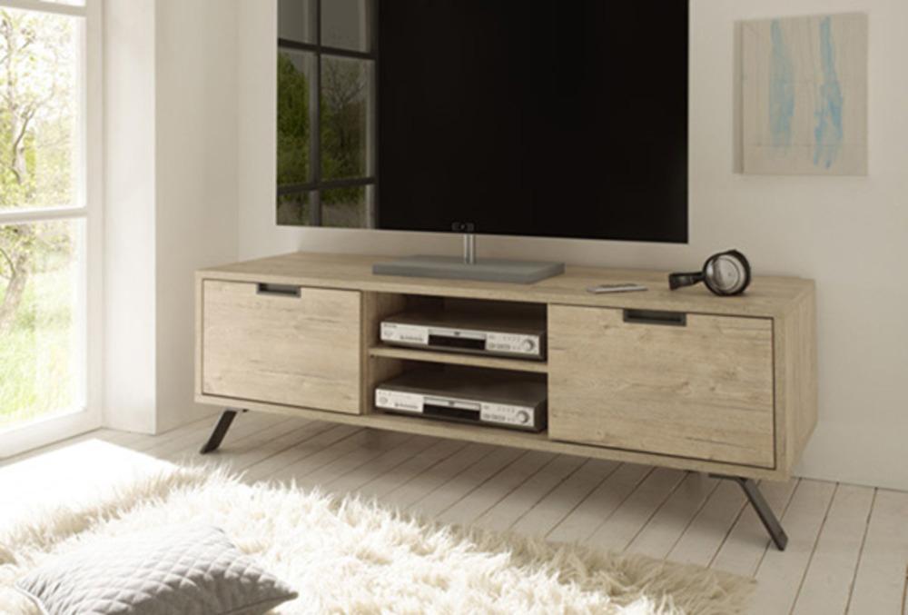 meuble tv goa chene blond