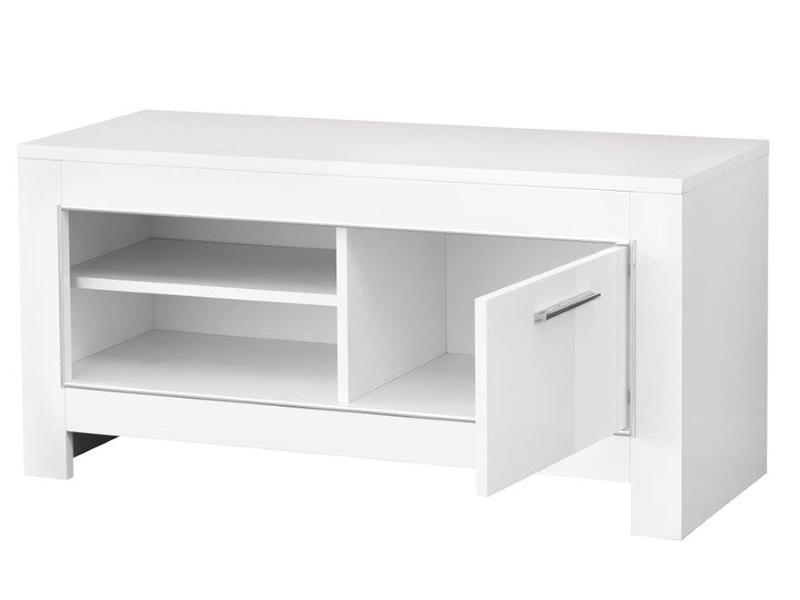 meuble tv pm modena laquee noire