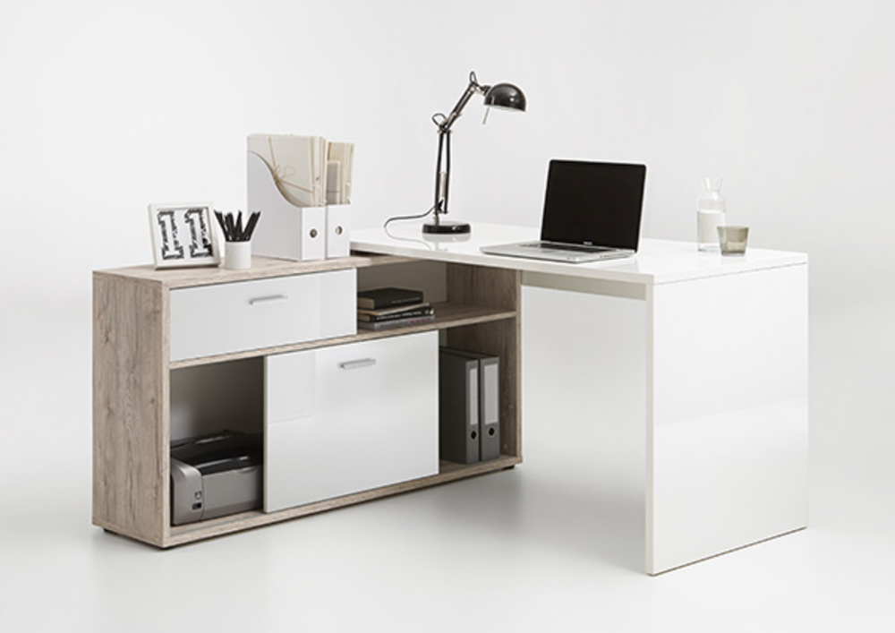 Bureau Dangle Diego Up Cheneblanc Brillant