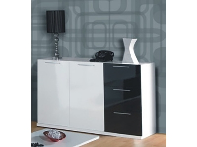 Table Basse Relevable Domino Plus Blanc Brillantchene