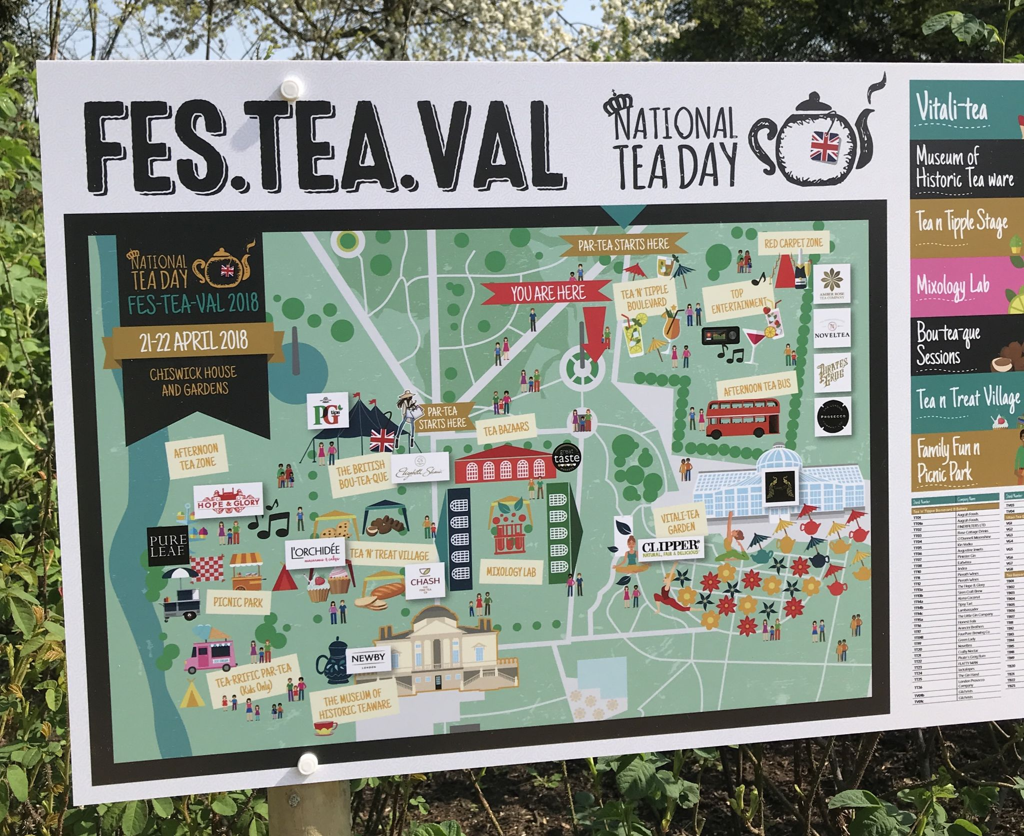 National Tea Day:  My Fes-tea-val experience
