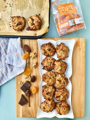 National Healthy Eating Week Day 1: Vegan Granola Cookies