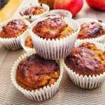 Vegan tahini muffins recipe