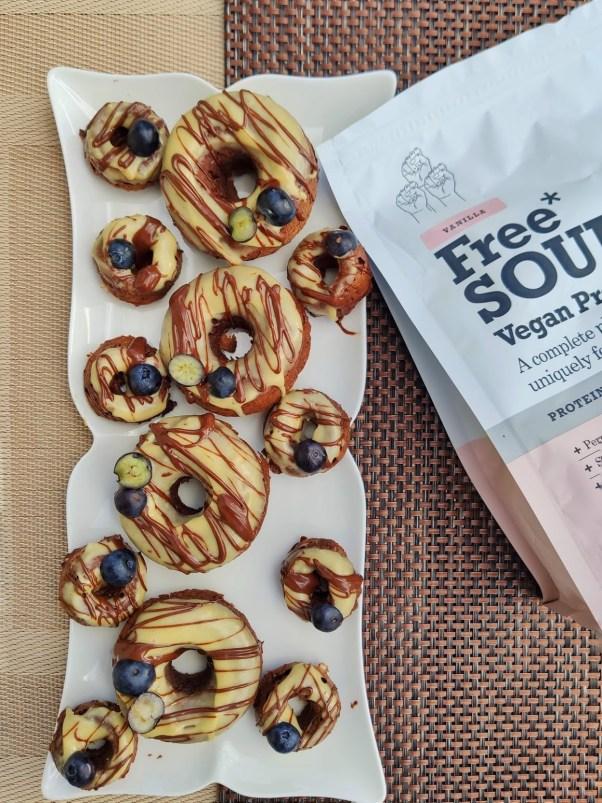 vegan tahini doughnut recipe
