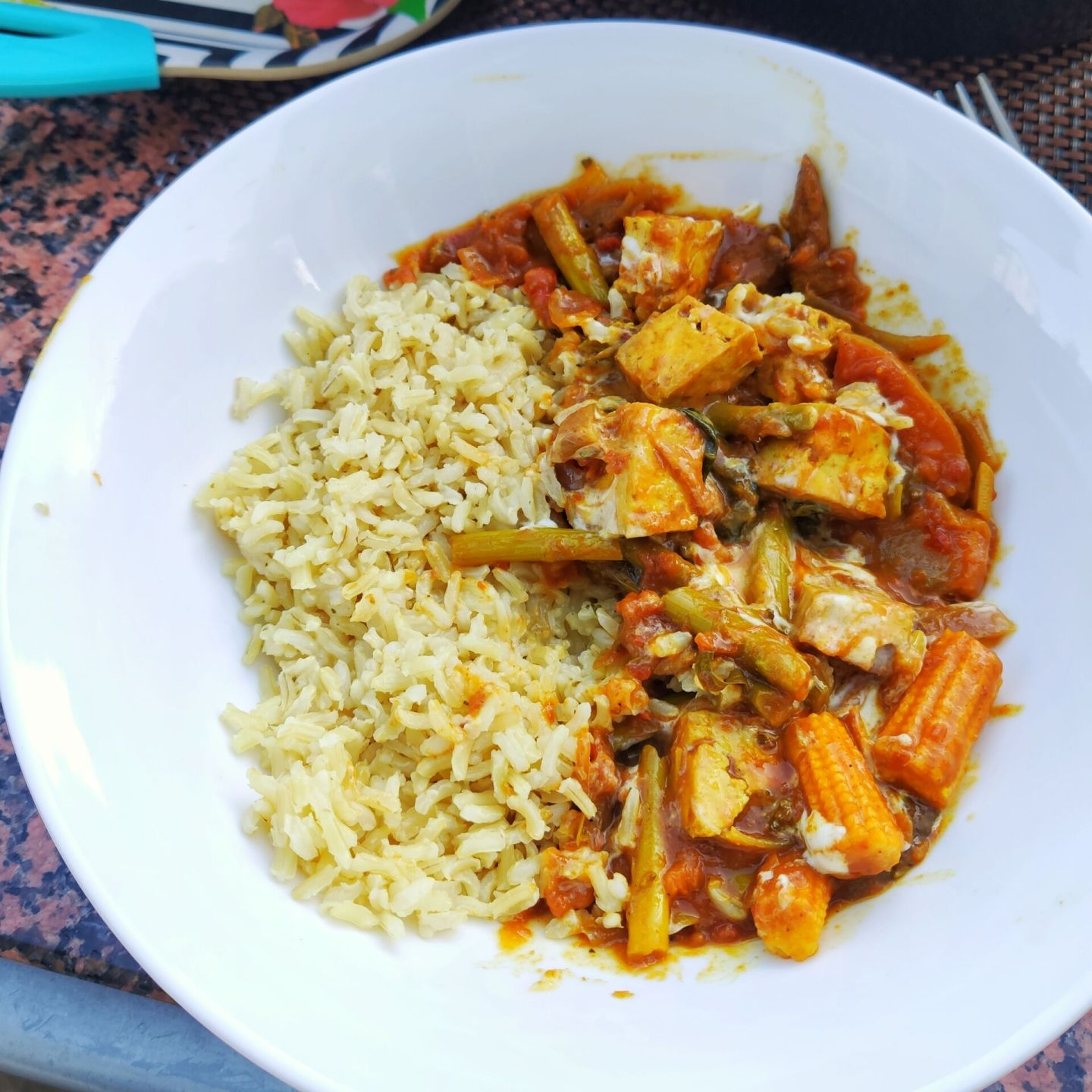 caribbean tofu curry recipe
