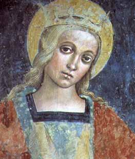 Giovanfrancesco D'Avanzarano. Santa Cristina (1506)
