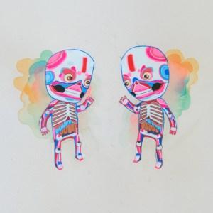 BAS Illustration gallery Cream Skeleton 2