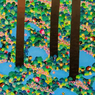 BAS Illustration gallery Forest 118x24