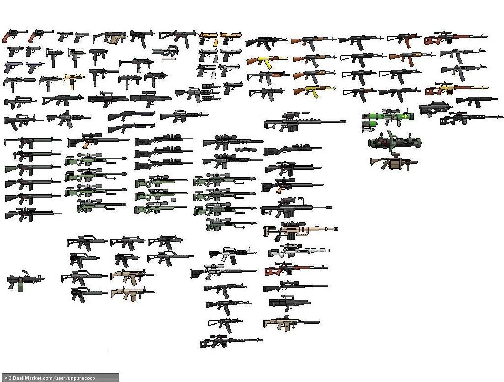 Basilmarket Gun Sprites