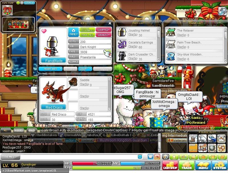 BasilMarket Fangblade  MapleStory Screen
