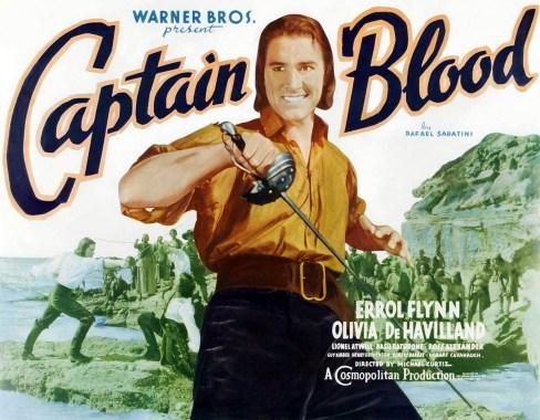 Image result for errol flynn as captain blood