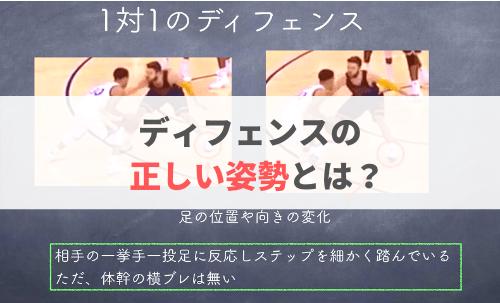 【NBAから学ぶ!】正しいディフェンスの姿勢とは?【デラベドバ.M】