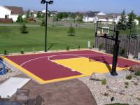 Outdoor Basketball Court Tile for Backyard Courts