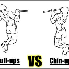 Pull Up Muscles Worked Diagram 1991 Honda Civic Ignition Switch Wiring Ups Vs Chin Which One Is Better What Builds More Muscle