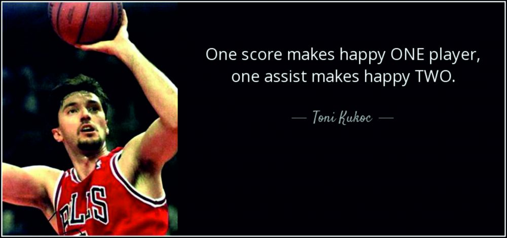 Tony Kukoch: basketbolcu ve kişilik 6