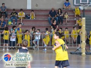 La festa minibasket del PalaJungo (foto R. Quartarone)