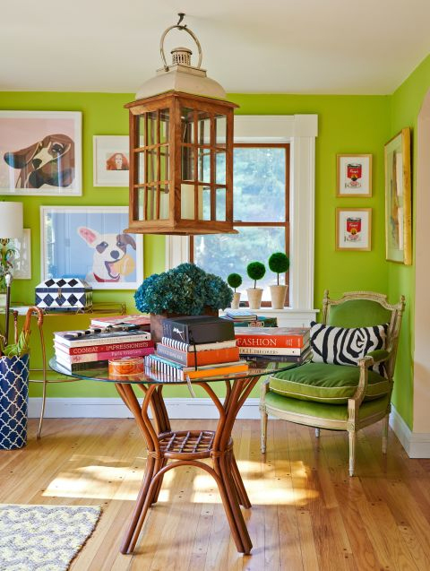 greenery color of the year 2017 - green for home decor