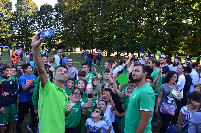 Festa Dello Sport 2017 - Selfie Basket Rozzano