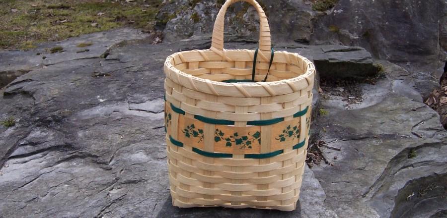 Ivy Wall Basket