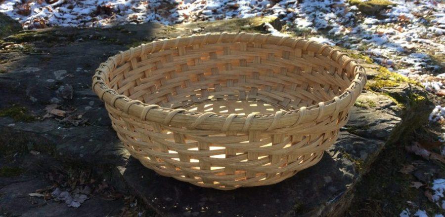 Twill Snack Basket