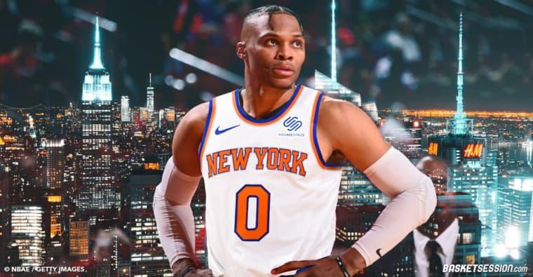 Russell Westbrook et les Knicks. ça ne se fera sans doute pas
