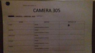 camera 305