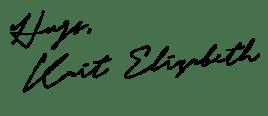 Basking in Burgundy Signature