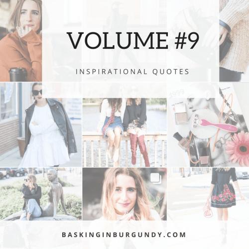 Volume #9 Basking in Burgundy