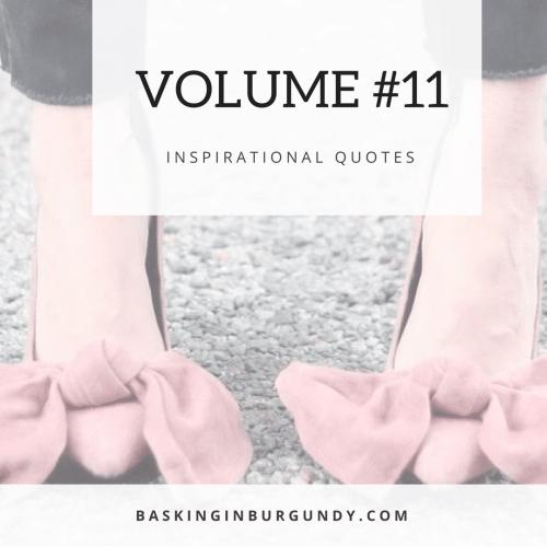 Volume #11 Basking in Burgundy