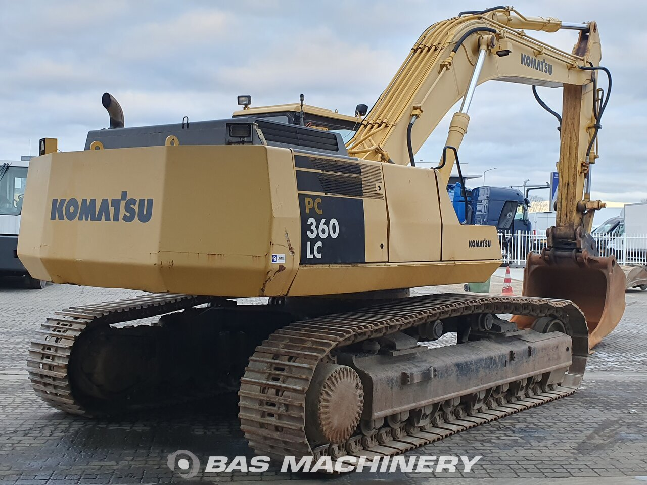 Komatsu PC360 LC 1993 Track excavator - BAS Machinery