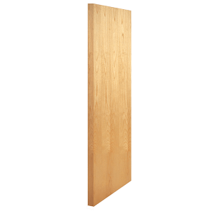 White Birch Wood Door