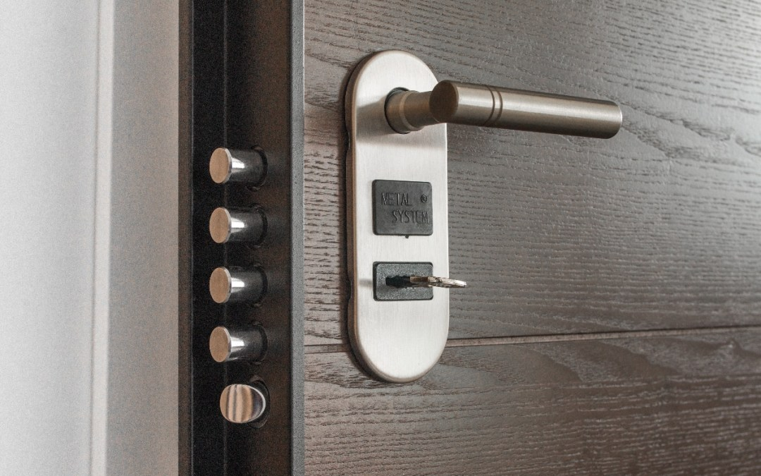 secure keypad door lock