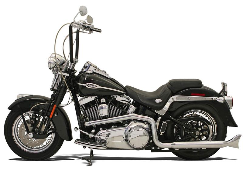 Hutch Special True Dual Crossovers For Softails 99