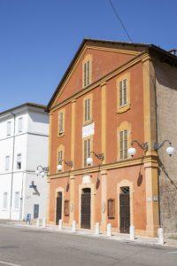 Teatro Rossini Lugo Esterno