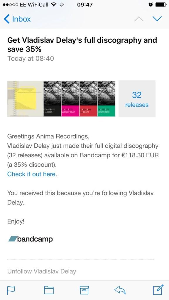 Vladislav Delay Full Discography