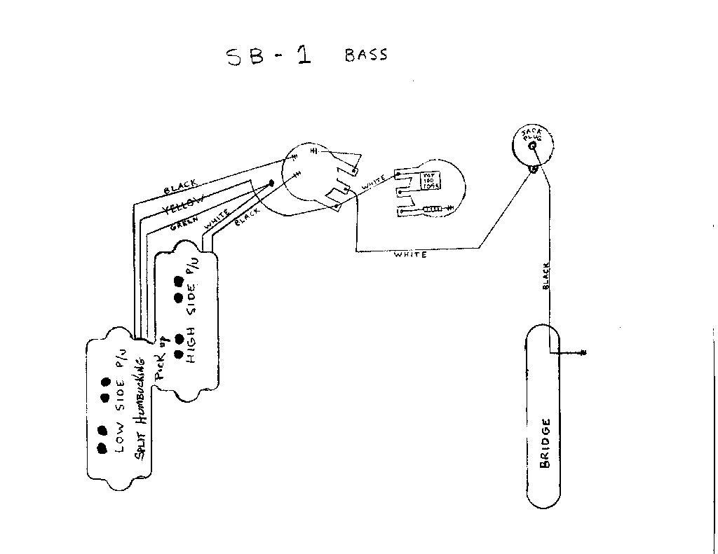 P Bas Pickup Wiring Diagram